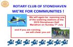 Stonehaven Half Marathon - Sunday 7th July